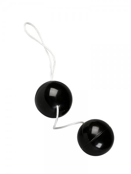 Super Soft Orgasmic Balls: Liebeskugeln, schwarz