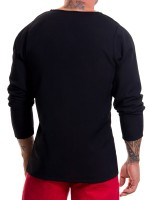 JOR Baru: Longshirt, schwarz