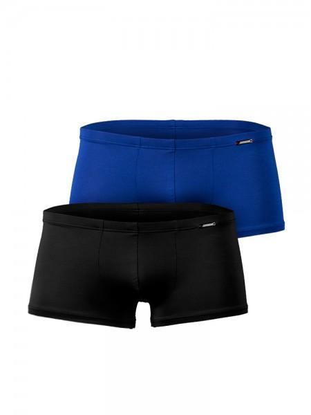 Olaf Benz RED9999: Minipant 2er Pack, royal/schwarz