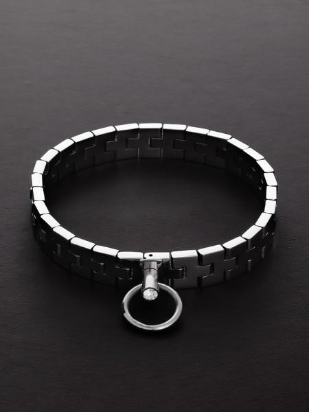 Triune Watchband Collar: Edelstahl-Halsfessel