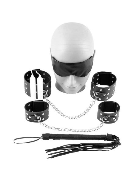 Fetish Fantasy Chains of Love Bondage Kit: Bondage-Set, schwarz
