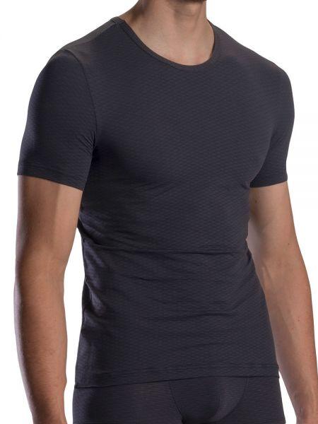 Olaf Benz RED1869: T-Shirt, schwarz