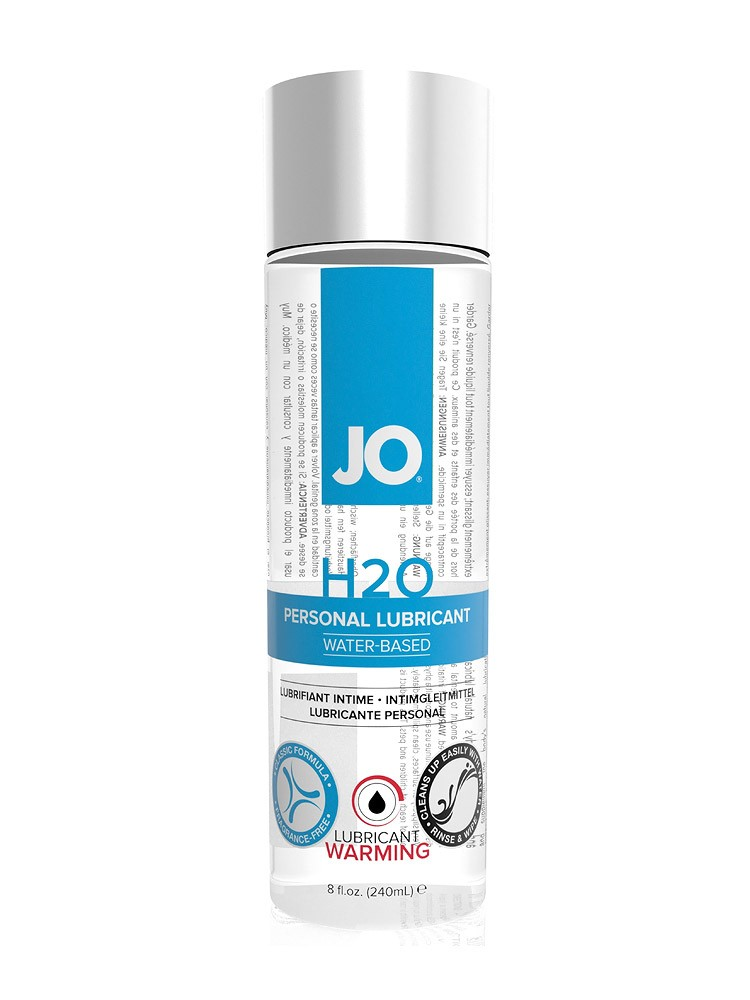 System JO Gleitgel: Jo H2O Waterbased Warming (240ml)