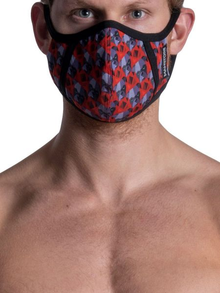 MANSTORE M2108: Mask, dogs