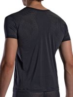 Olaf Benz RED1871: V-Neck-Shirt, schwarz