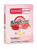Smoothglide: Kondome 3er Pack, rot