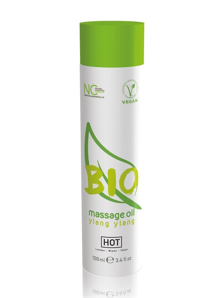 HOT Bio Massageöl Ylang vegan (100ml)