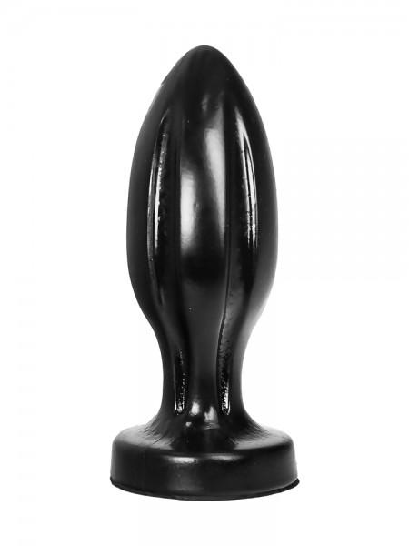 All Black AB87: Buttplug, schwarz