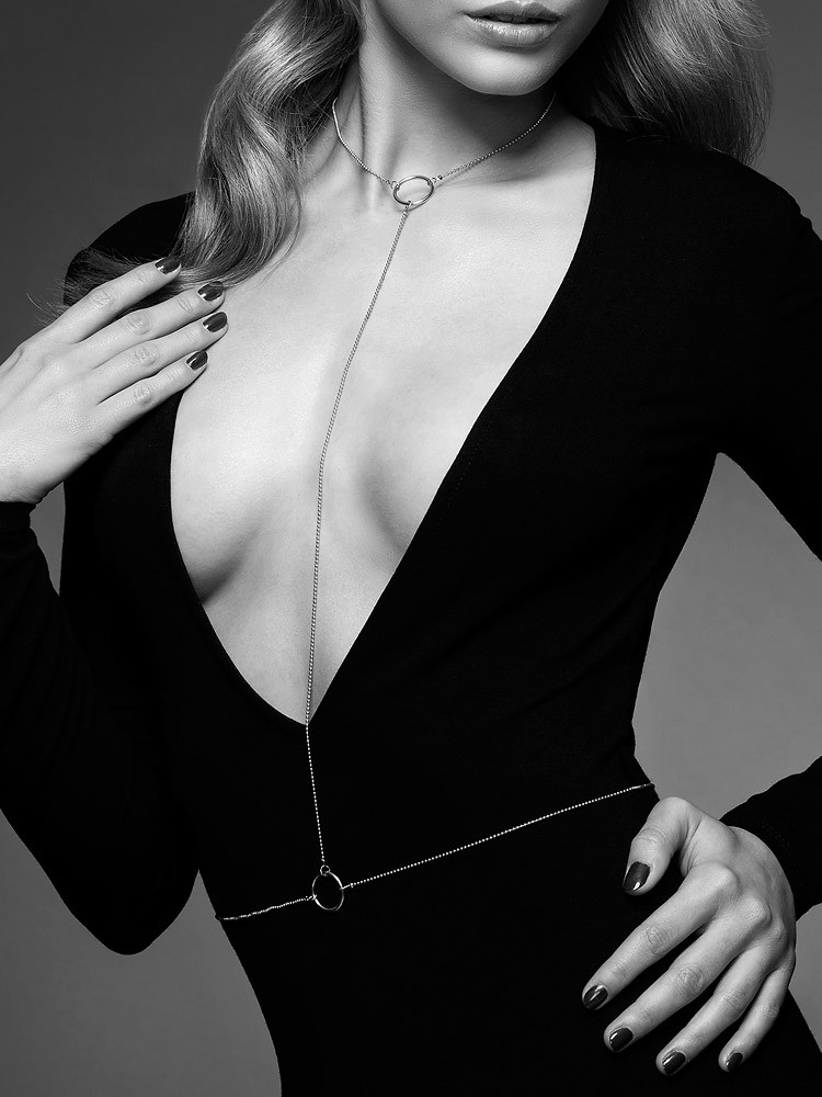 Bijoux Indiscrets The Magnifique: Körperkette, silber