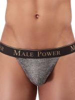 Male Power Viper: Micro G-String, grau