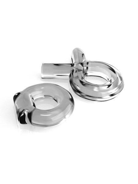 Classix Couples Cock Ring-Set: Penisring-Set 2-teilig, transparent