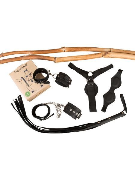 Vegan Fetish: Bondage-Set, schwarz