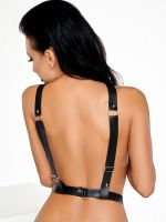 MeSeduce Harness 09: Brust-Harness, schwarz