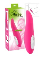 Sweet Smile Shaking Tongue: Aufliegevibrator, pink