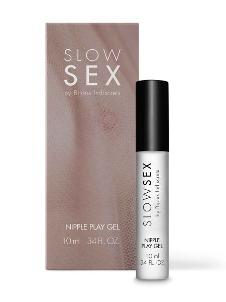 Bijoux Indiscrets Slow Sex Nipple Play Gel: Nippelstimulationsgel (10ml)