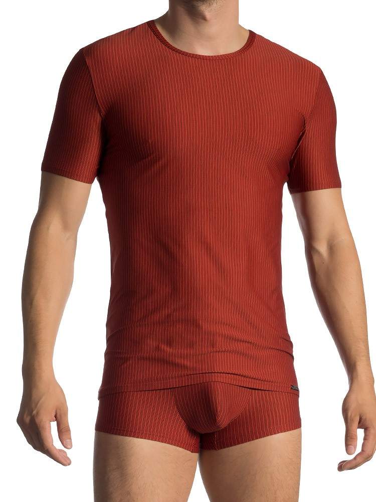 Olaf Benz RED1600: T-Shirt, rot (XL)