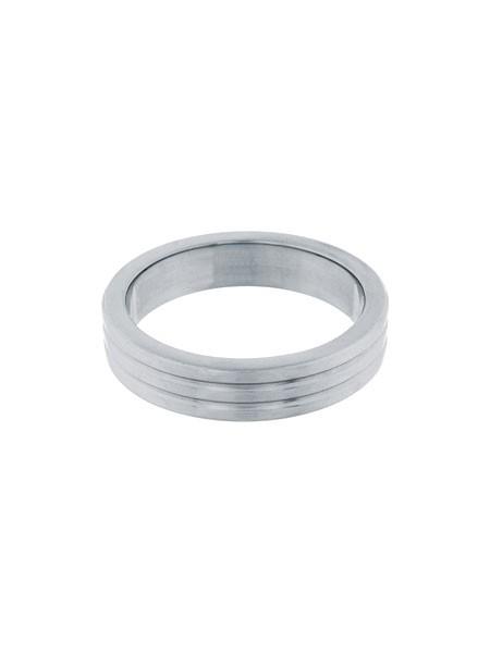 Steel Power Tools Ribbed: Edelstahl-Penisring (40mm)