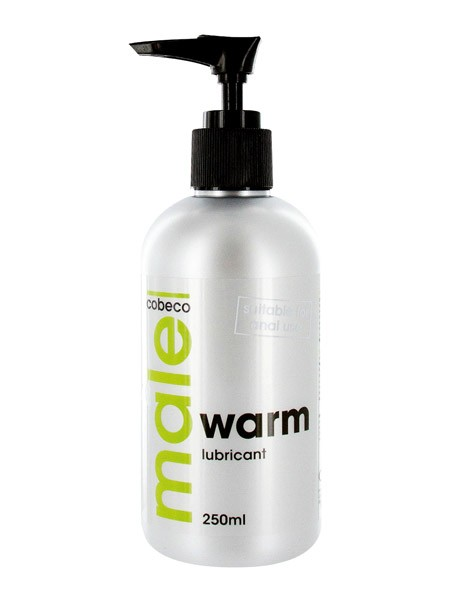 Gleitgel: MALE Warm Lube (250ml)