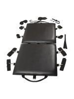 Bondage Board: Fesselmatte, schwarz