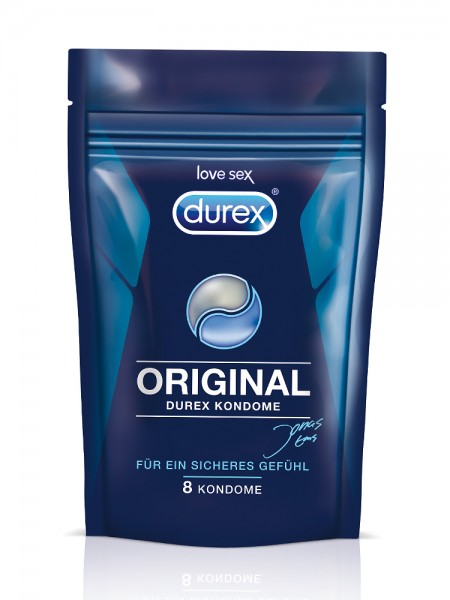 Durex Original: Kondome, 8er Pack