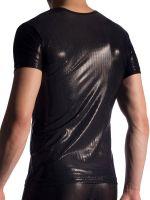 MANSTORE M907: V-Neck-Shirt, schwarz