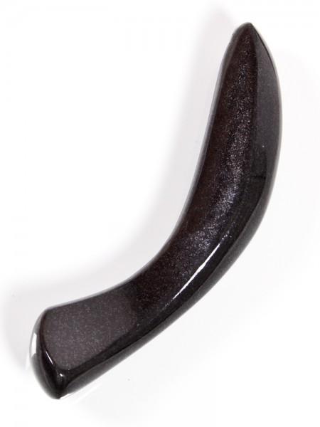 Laid D.2: Granit-Dildo, schwarz