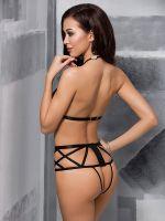Passion Jade: Ouvert-Body, schwarz