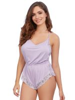 Dreamgirl Sleepwear Teddy, lavendel