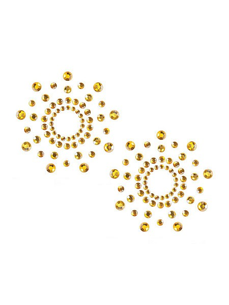 Bijoux Indiscrets Mimi: Nippelsticker, gold