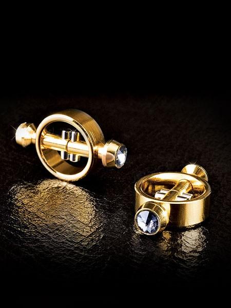 Fetish Fantasy Gold Magnetic Clamps: Nippelklemmen