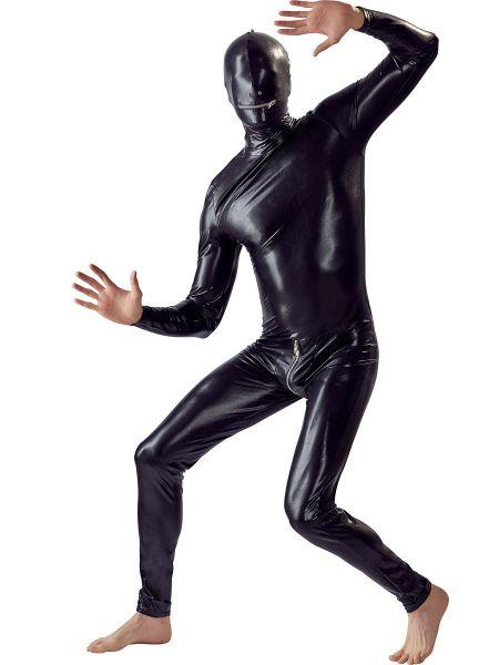 Ganzkörper Overall, schwarz