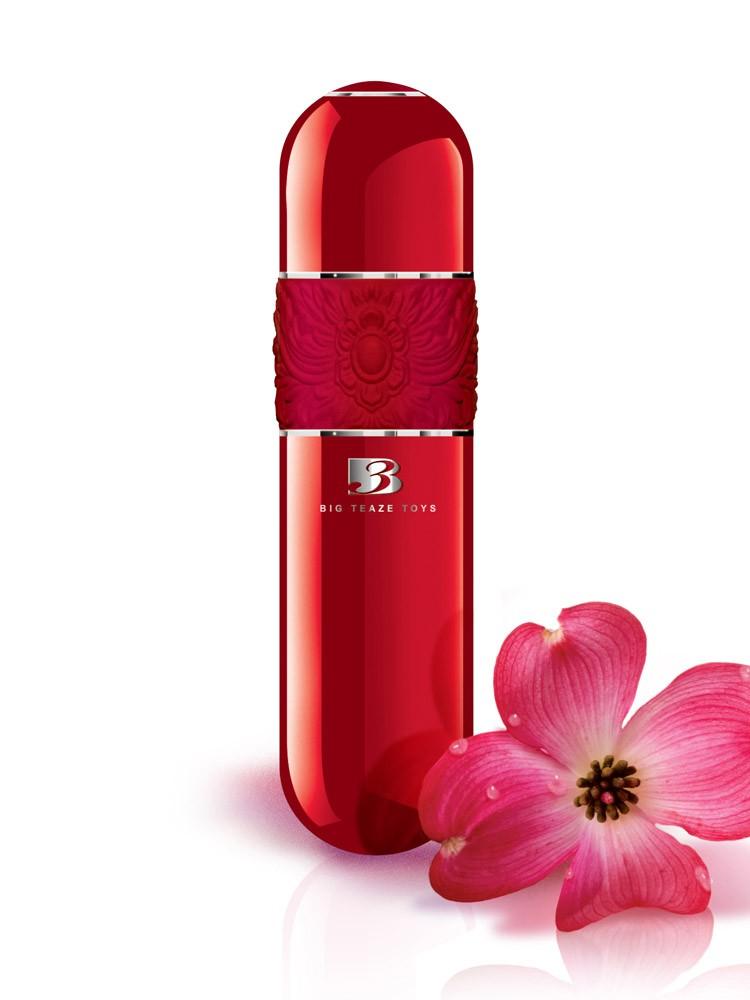Onye Fleur Vibromasseur: Minivibrator, rot