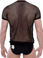 Spitzenjunge Blackline Blank: T-Shirt, schwarz