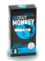 The Crazy Monkey Condoms Fun & Friction 12er Pack