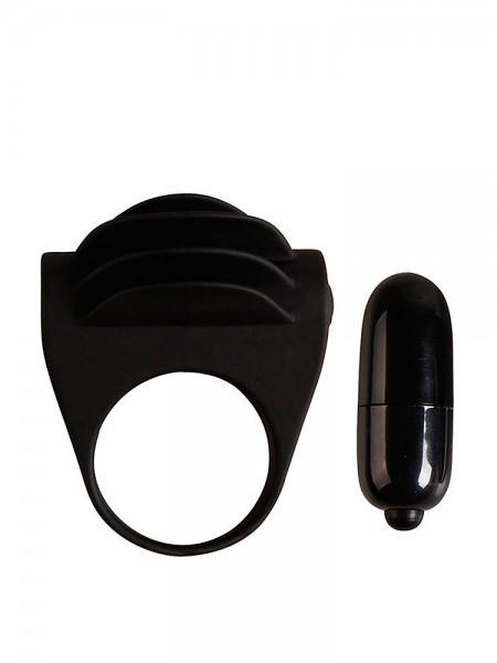 Crazy Bull Chester: Vibro-Penisring, schwarz