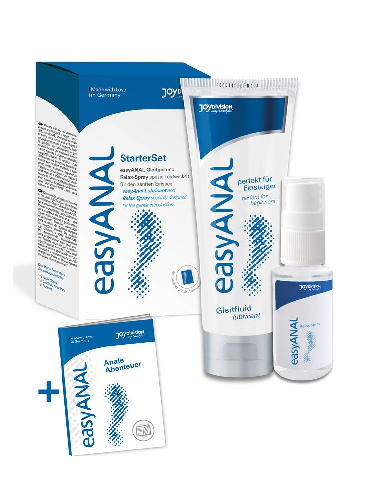 Joy EasyAnal: Gleitgel-Set (1x 80ml, 1x 30ml)