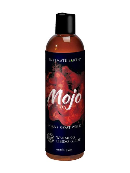 Gleitgel: Intimate Earth Mojo Horny Goat Weed Warming Glide (120ml)