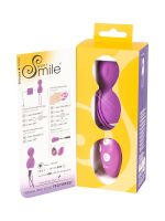 Sweet Smile Rotating Love Ball: Vibrokugel mit Rotation, pink
