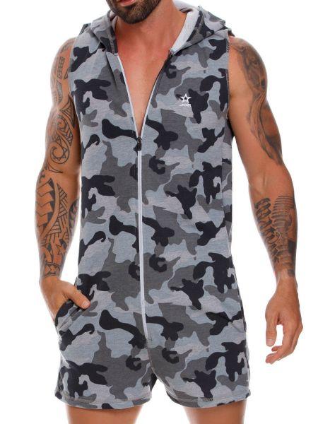 JOR Adventure; Jumpsuit, grau-camouflage