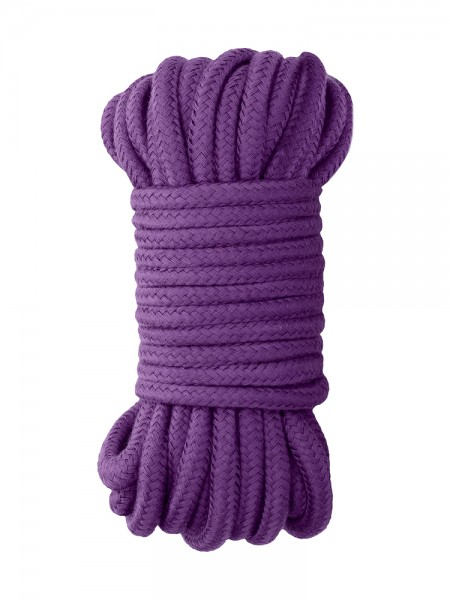 Ouch! Japanese Silk Rope: Bondageseil, lila (10m)