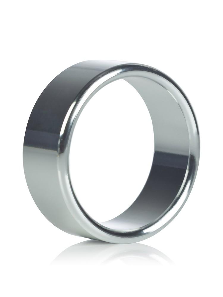 California Exotics Alloy Metallic: Aluminium Penisring, large
