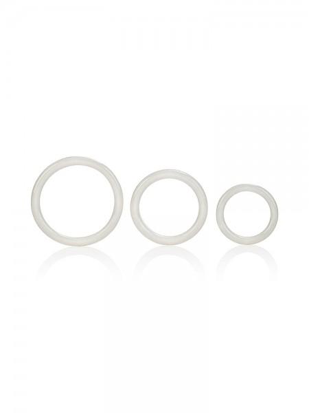 Tri-Rings: Penisringe-Set, glow