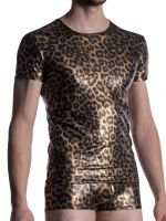 MANSTORE M2003: V-Neck-Shirt, wild