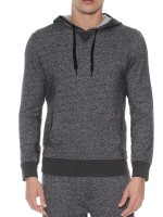 2(X)ist Activewear: Hooded Pullover, graumeliert