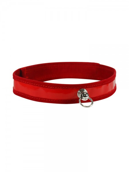 Sex & Mischief Red Day Collar: Halsband, rot