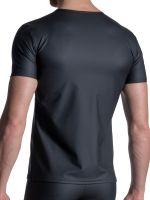 MANSTORE M2111: V-Neck-Shirt, schwarz