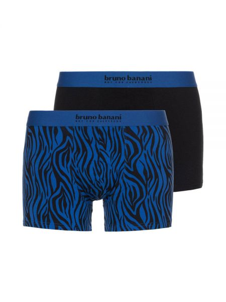 Bruno Banani Season Greetings: Short 2er Pack, schwarz/blau
