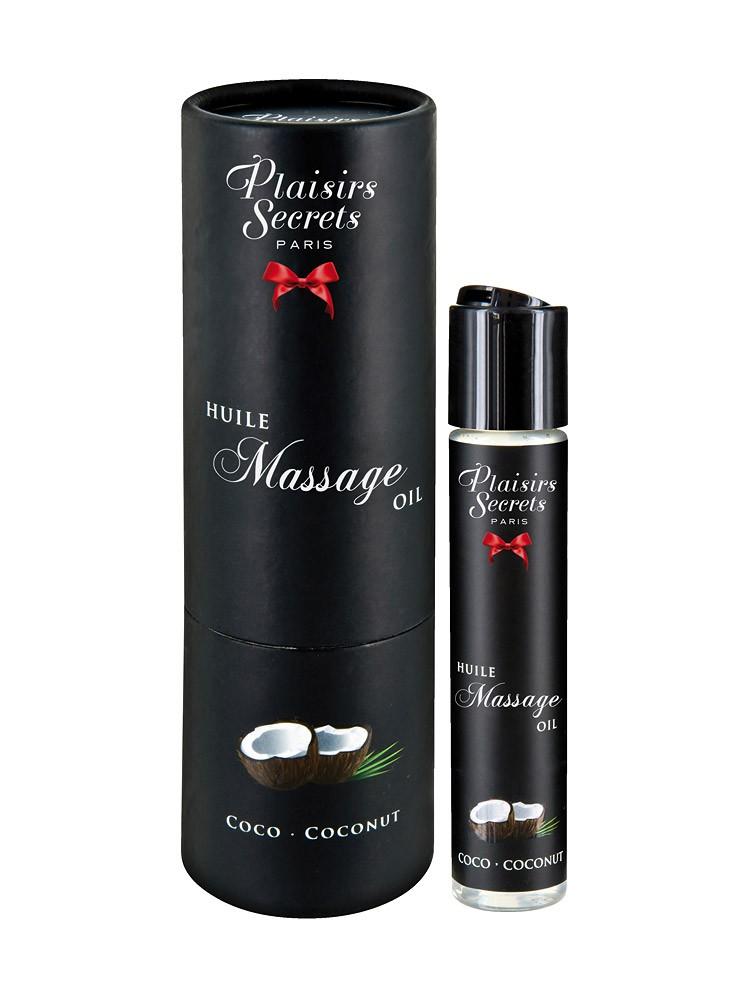Plaisirs Secrets Coconut: Massageöl (59ml)