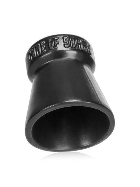 Oxballs Cone Of Shame Chastity Cockring: Hodenkäfig, schwarz