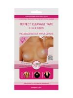 Bye Bra Perfect Cleavage Tape Cup A-F: Klebestreifen, 12 Stück